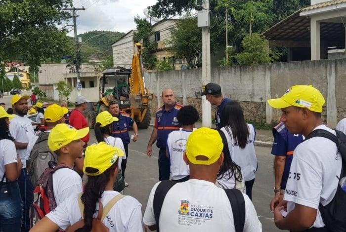 Defesa Civil promove simulado de sirenes em bairros de Duque de Caxias - O DIA