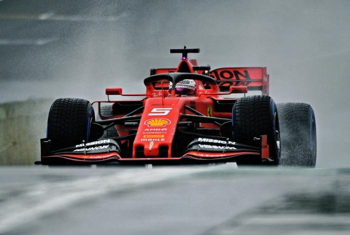 Vettel fez o melhor tempo nos treinos de ontem, com 1m09s217