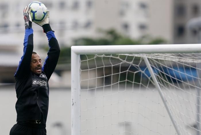 Diego Cavalieri será titular do Botafogo  contra o Athletico-PR