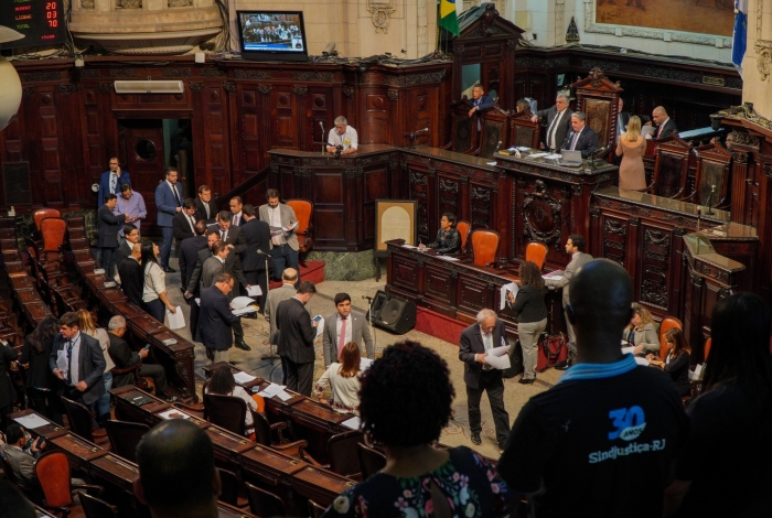 Plenário da Alerj começará a analisar propostas na segunda-feira