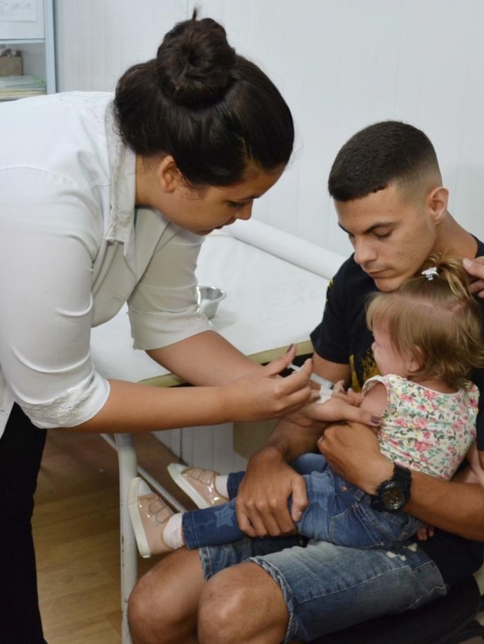 Vacinação contra sarampo em crianças atinge 98% em Volta Redonda