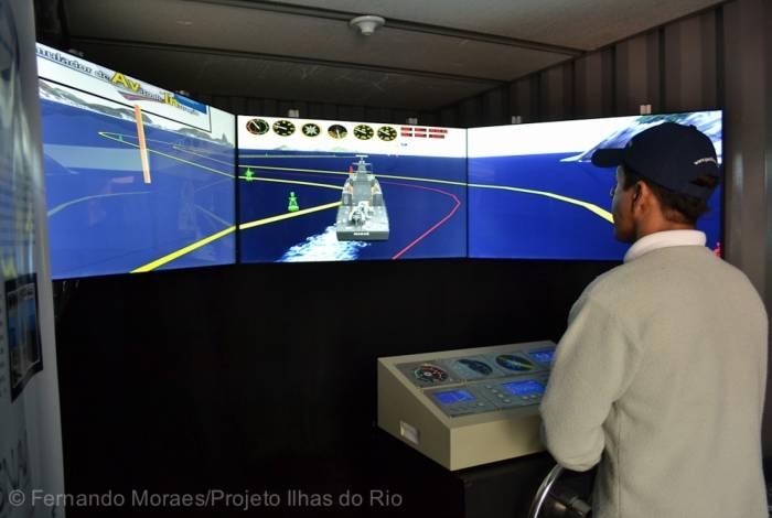 Simulador da Marinha do Brasil