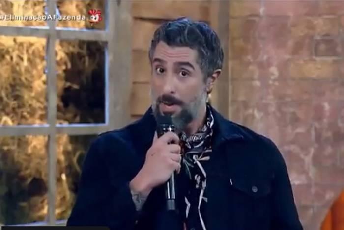 Marcos Mion comenta estado de saúde de Gugu Liberato em 'A Fazenda'
