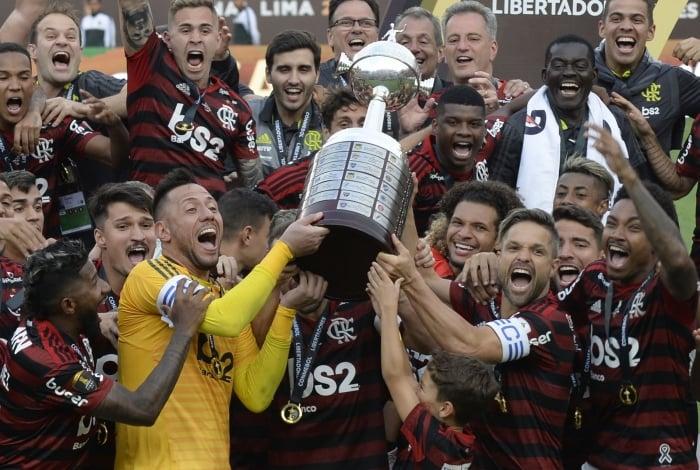 Flamengo foi campeão da Libertadores