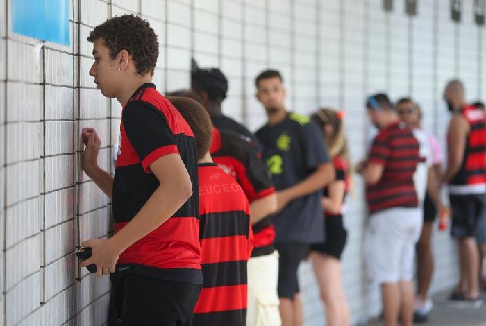 Torcedores do Flamengo tomaram as ruas do Rio