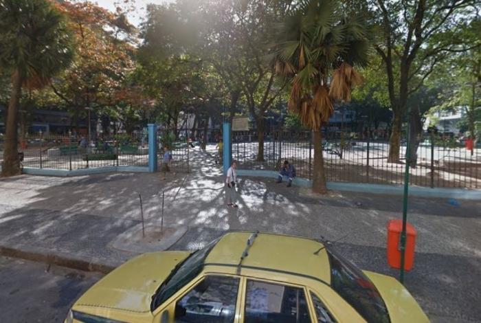 Adolescente foi apreendido nas proximidades da Praça Serzedelo Correia, em Copacabana