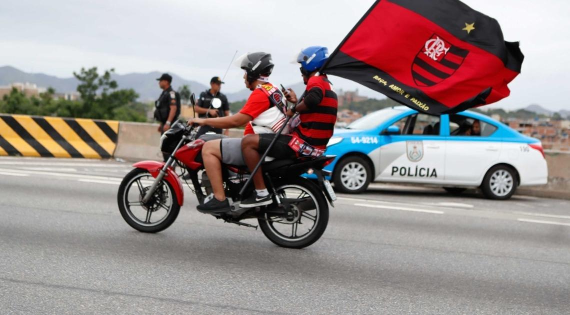 Rio, 24/01/2019, Chegada da delegacao do Flamengo ao Rio de Janeiro, foto de Gilvan de Souza / Agencia O Dia