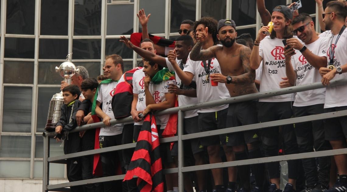 Flamengo conquistou a Libertadores