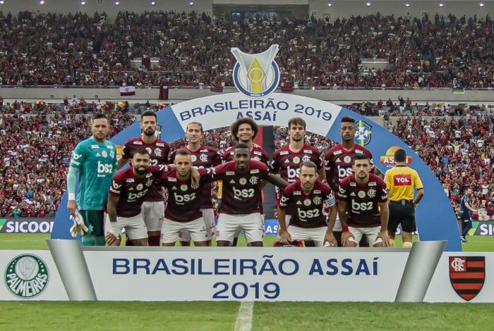 Flamengo conquistou o Campeonato Brasileiro