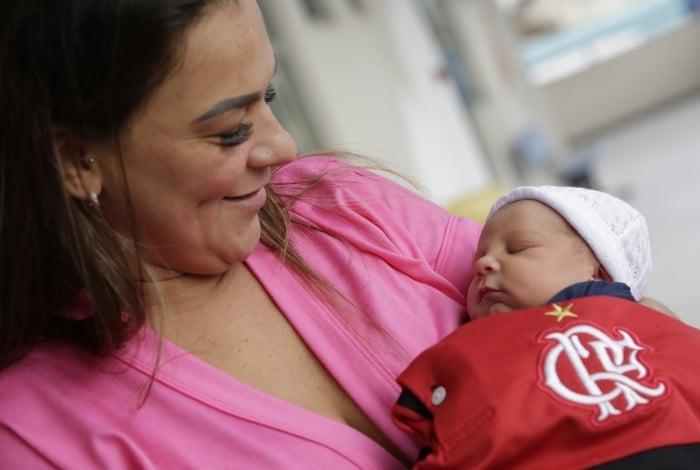 Pamela Marques, torcedora do Flamengo, fez homenagem a Gabigol