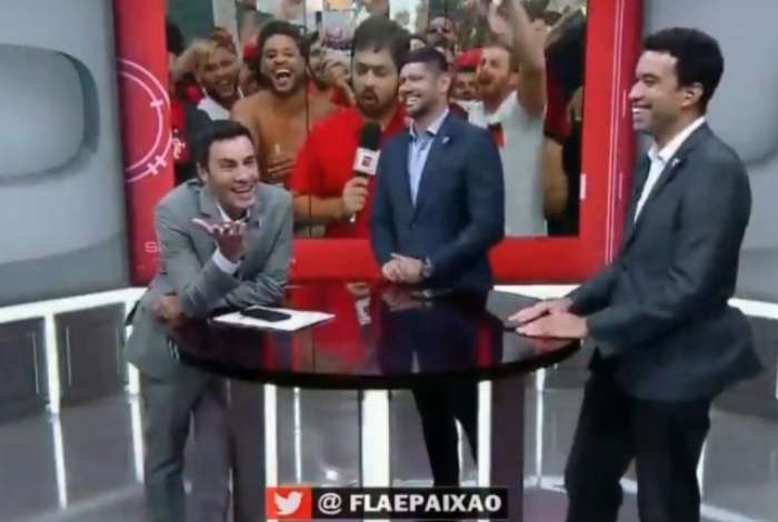 Música constrangeu apresentador da ESPN