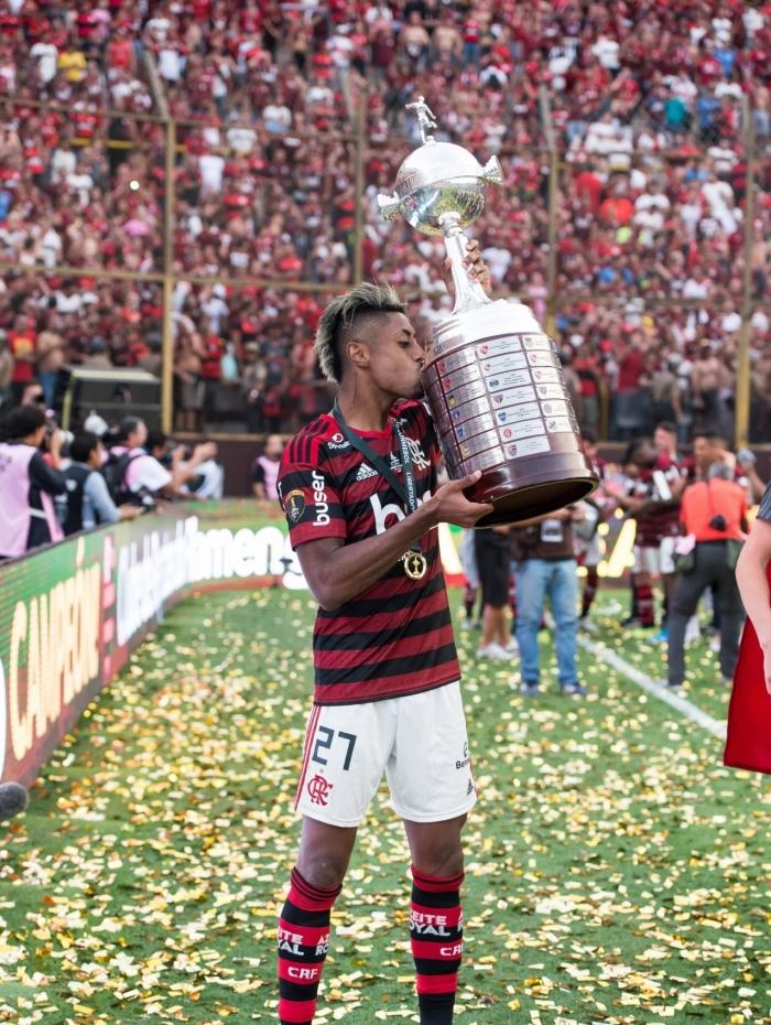 Bruno Henrique do Flamengo foi escolhido o craque da Libertadores 2019