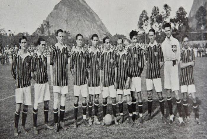Fluminense em 1918: time quase foi liquidado pela Gripe Espanhola