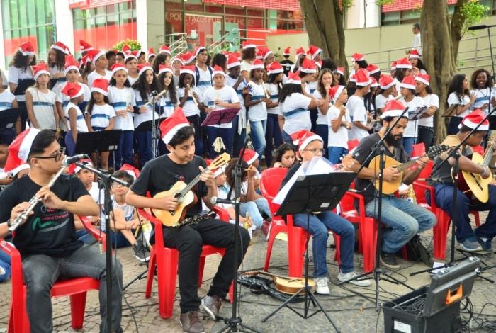 Concerto contará com mais de 3 mil alunos-músicos