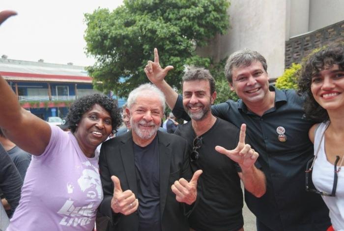 Benedita, Lula e Freixo formarão aliança na próxima eleição