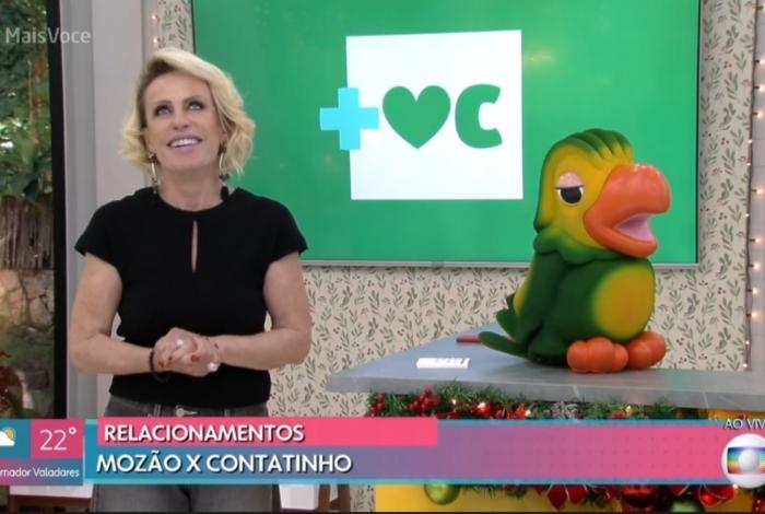 Ana Maria Braga falou para Louro José que não tem nenhum contatinho