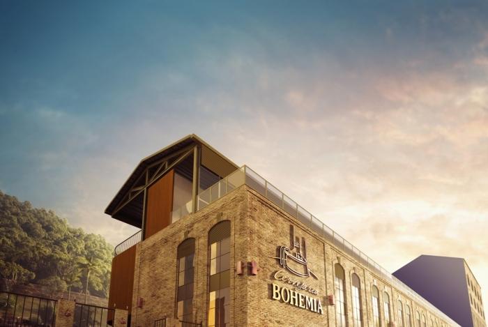 Cervejaria Bohemia, em Petrópolis