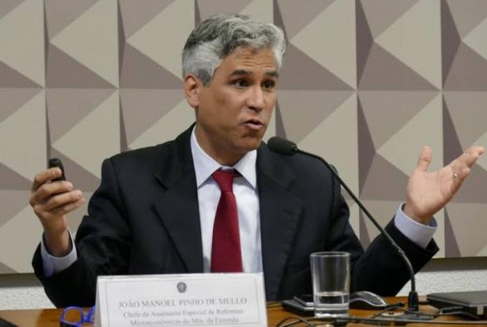 João Manoel Pinho de Mello, diretor do BC