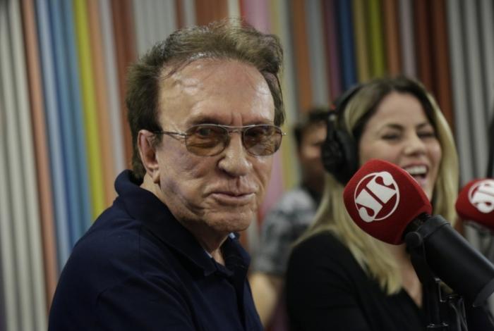 Moacyr Franco na rádio Jovem Pan
