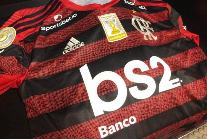 Flamengo terá patch de campeão brasileiro para partida contra o Ceará