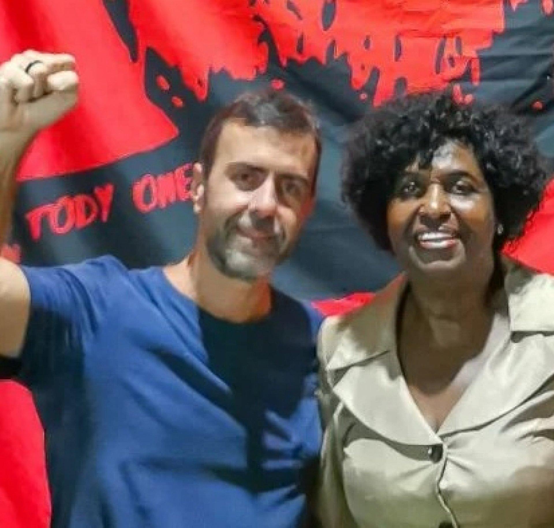 Benedita da Silva será a candidata à vice de Freixo O Dia - Informe do Dia