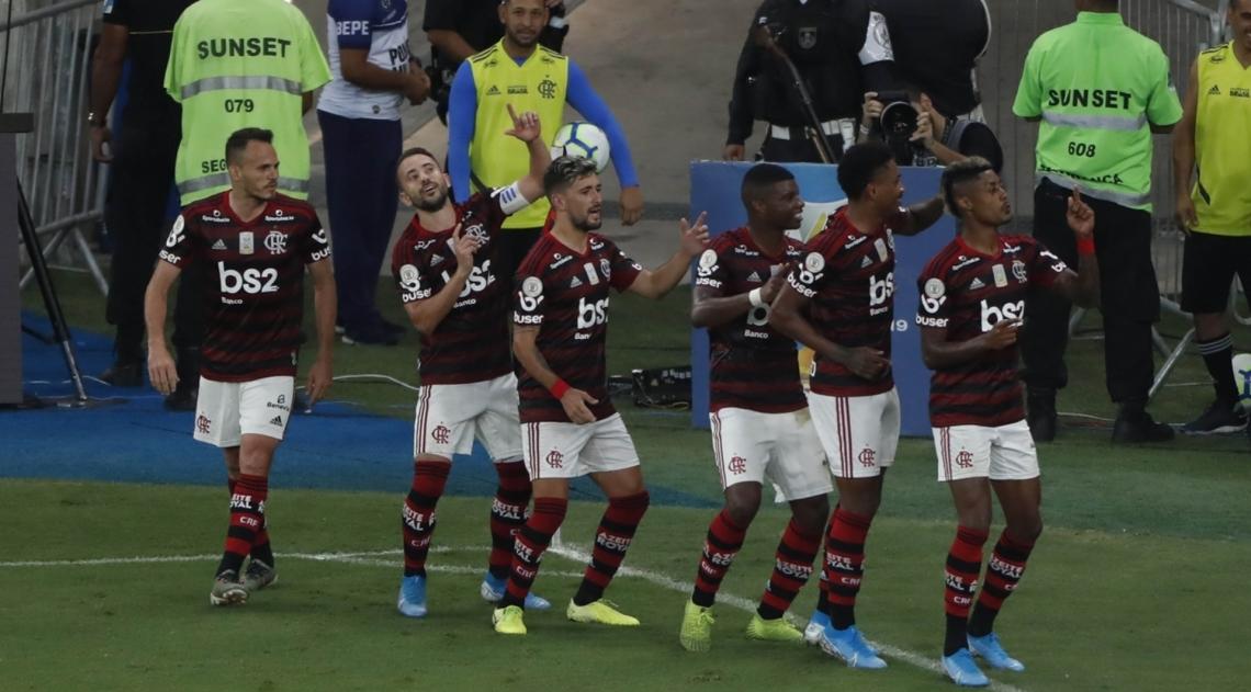 Flamengo fez festa no Maracanã