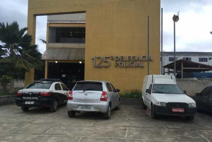 O criminoso foi preso e encaminhado a 125ª DP (São Pedro da Aldeia)