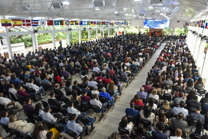 A Igreja Cristã Maranata realizou o evento