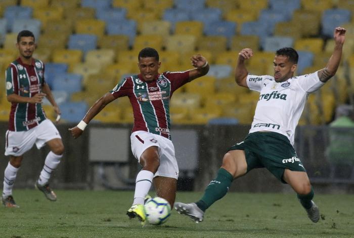Marcos Paulo garantiu a vitória do Fluminense