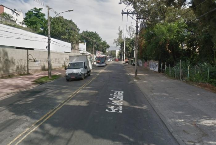 O criminoso foi preso na Estrada da Gabinal, em Jacarepaguá, Zona Oeste da cidade