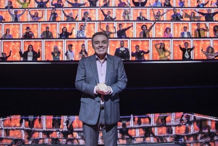 Gugu Liberato na semifinal do programa 'Canta Comigo', gravada antes de sua morte