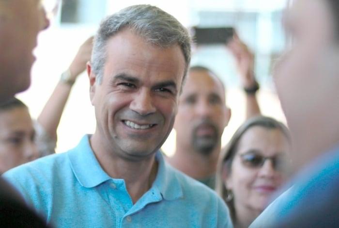 O prefeito de Nova Iguaçu, Rogério Lisboa