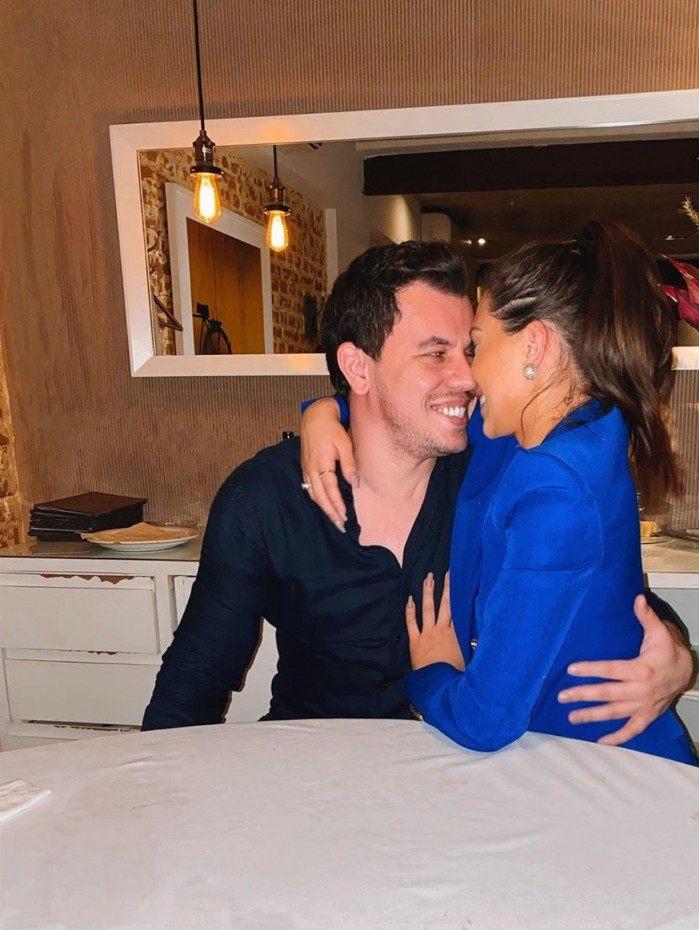 Flávia Pavanelli e o novo namorado, Junior Mendonza