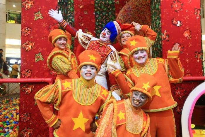 Turma do Topetão estará nos domingos de dezembro no Caxias Shopping
