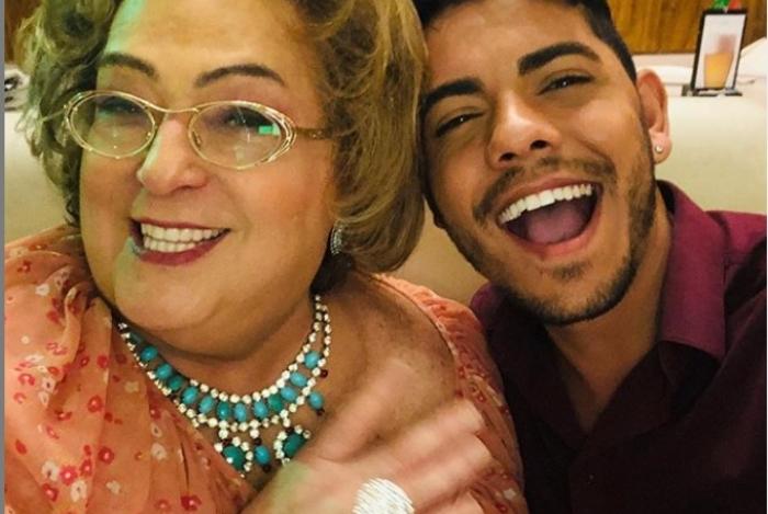 Mamma e Lukas Caprezzi
