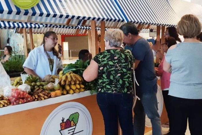 Feira no Caxias Shopping terá produtos orgânicos