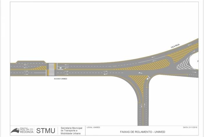 STMU reorganiza trânsito na Rodovia do Metalúrgicos