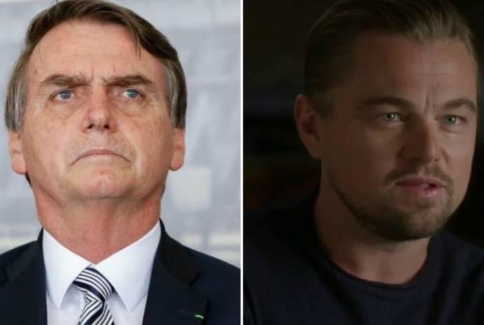 Bolsonaro e Leonardo DiCaprio