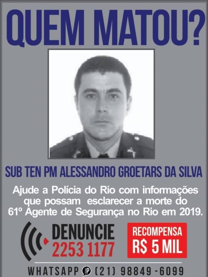 Disque-Denúncia pede informações sobre assassinos de PM