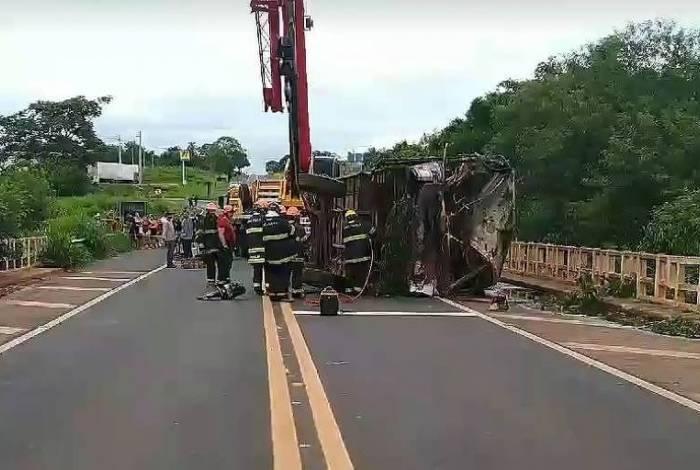 Acidente aconteceu em Votuporanga