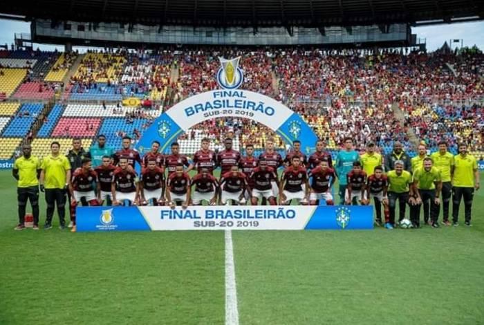 Flamengo bateu o Palmeiras por 3 a 0 e conquistou o título do Brasileiro sub-20