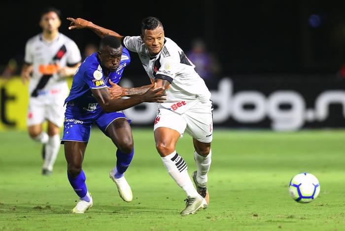 02/12/2019 - Vasco x Cruzeiro se enfrentam, nesta segunda-feira, em Sao Januario, pela 36a rodada do Brasileirao. Foto: Daniel Castelo Branco / Agencia O Dia