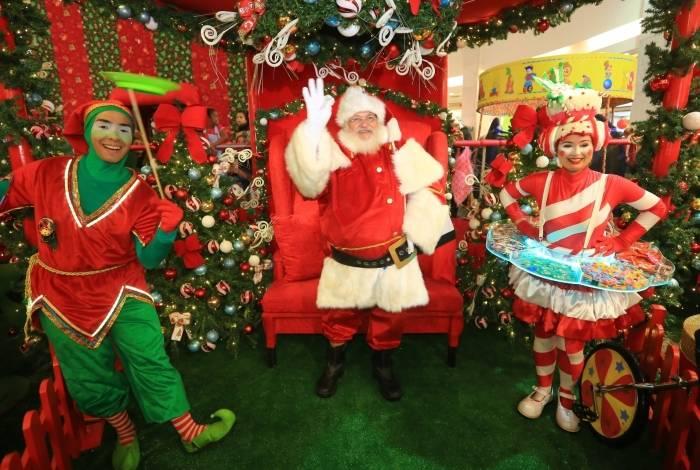 Caxias Shopping terá programação natalina até 24 de dezembro