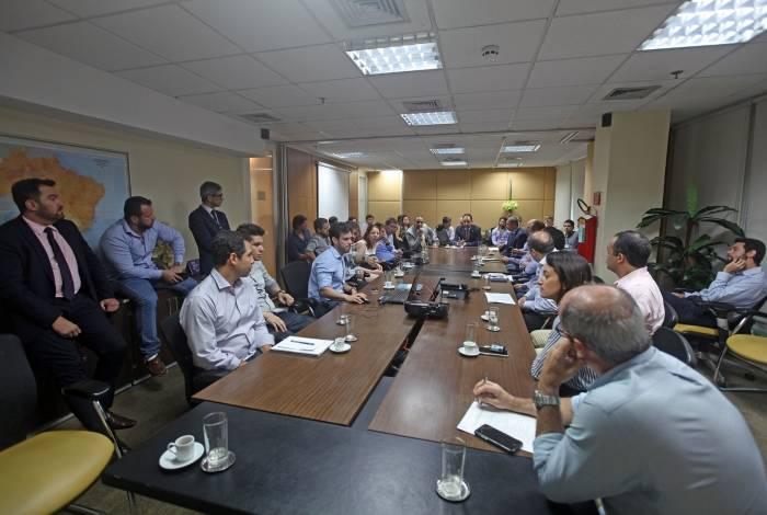 Secretário de Fazenda se reúne com Auditorias Fiscais Especializadas da Receita Estadual