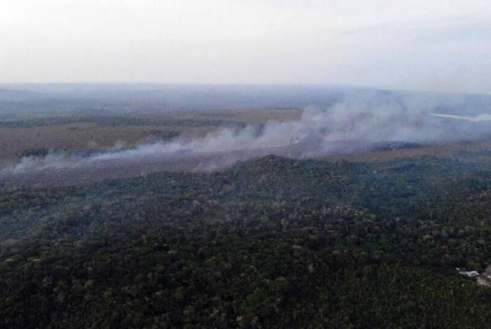 Incêndio que devastou Alter do Chão, no Pará