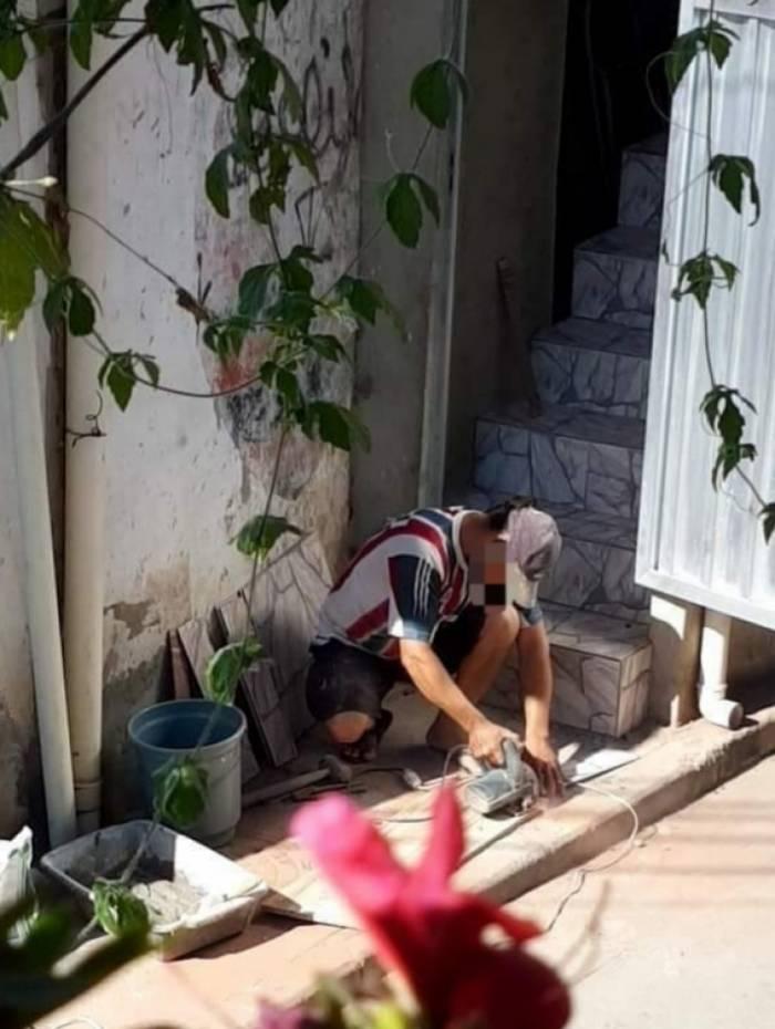 Foto rara de um Vizinho da Maquita