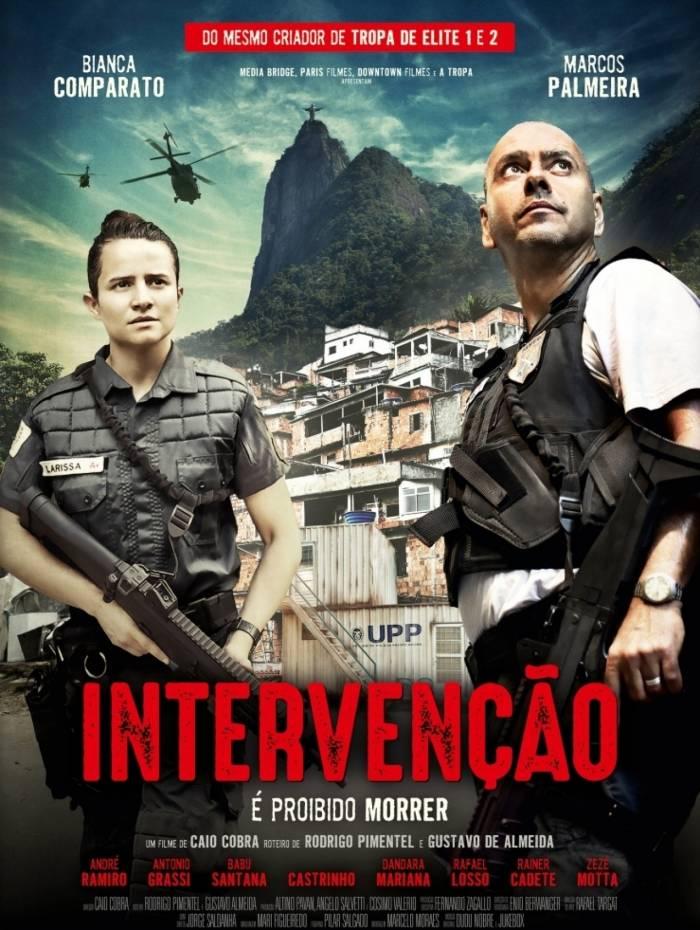 Cartaz oficial de 'Intervenção'