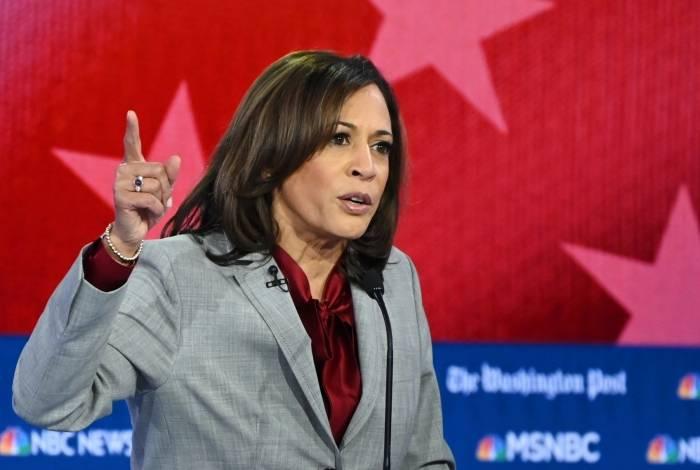Senadora democrata Kamala Harris deixou a corrida presidencial nos EUA