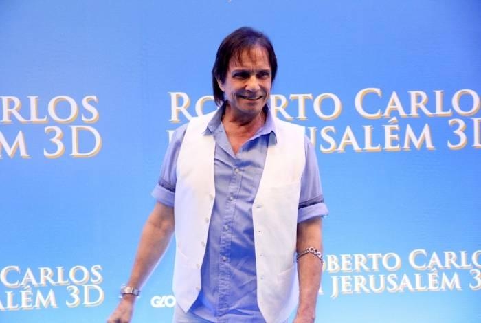 Roberto Carlos diz que seu especial de Natal será 'diferente de tudo'