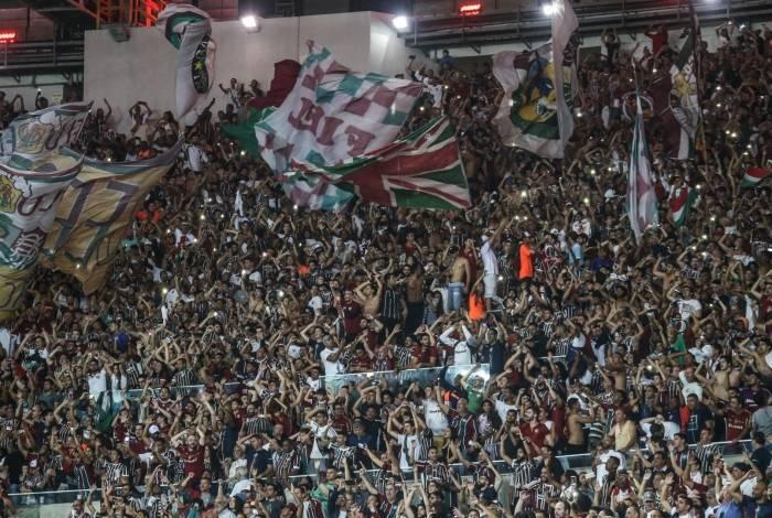 Quase 31 mil tricolores foram ao Maracanã no jogo contra o Palmeiras: foi o melhor público do clube nesta edição de Campeonato Brasileiro